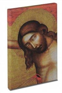Bild vom heiligsten Herzen Jesu - Motiv Meister von Hohenfurth, um 1350