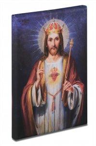 Bild vom heiligsten Herzen Jesu - Bild von W. Wüsten, Mainz