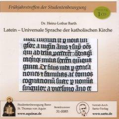 Latein - Universale Sprache der katholischen Kirche - CD