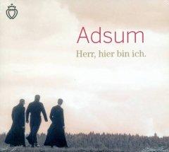 Adsum - Herr hier bin ich! - CD