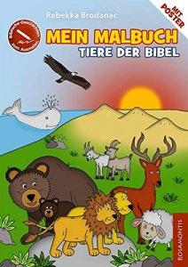 Mein Malbuch Tiere der Bibel