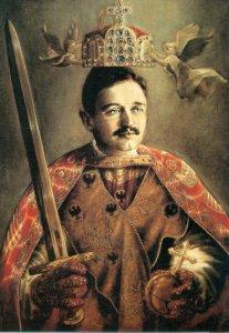 Postkarte Diener Gottes Kaiser Karl