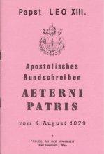 Apostolisches Rundschreiben Aeterni Patris [HB 64]