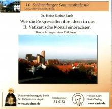 Wie die Progressisten ihre Ideen in das II. Vatikanische Konzil einbrachten - CD