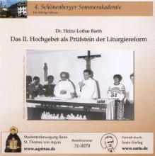 Das II. Hochgebet als Prüfstein der Liturgiereform - CD
