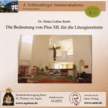 Die Bedeutung von Pius XII. für die Liturgiereform - CD