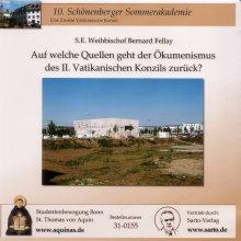 Auf welche Quellen geht der Ökumenismus des II. Vatikanischen Konzils zurück? - CD