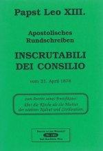 Apostolisches Rundschreiben Inscrutabili dei consilio [HB 102]