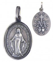 Wundertätige Medaille (Silber 925) 12 mm