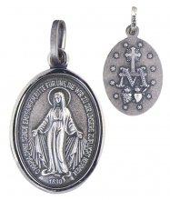 Wundertätige Medaille (Silber 925) 10 mm