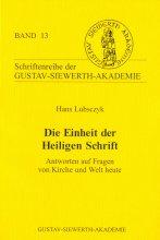 Die Einheit der Heiligen Schrift.