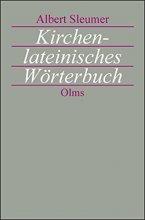Kirchenlateinisches Wörterbuch