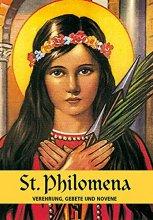 St. Philomena Verehrung, Gebete und Novene